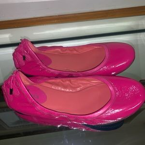 Pink cole haan shoes.